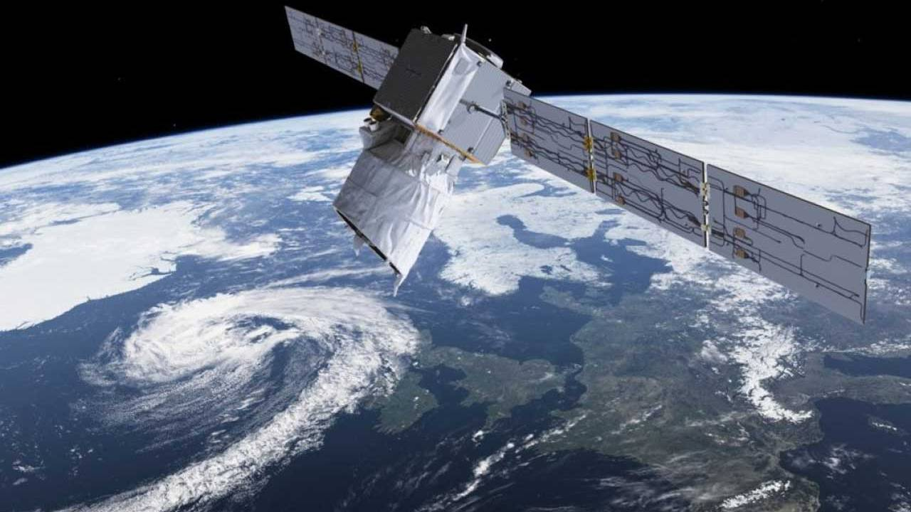 ESA satellite had to fire thrusters to avoid a collision in orbit