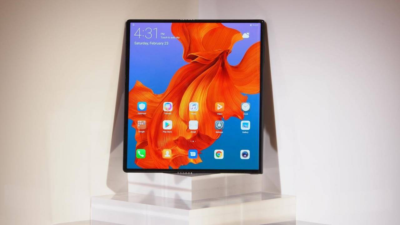 Huawei Mate X will immediately be obsolete when it launches next month