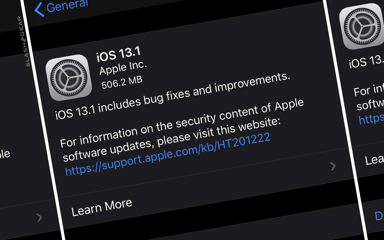 iOS 13.1 released now with bug fixes and iPadOS