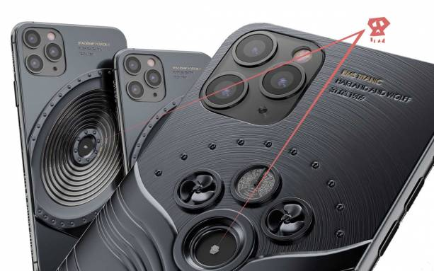 These iPhone 11 Pro units include macabre bits