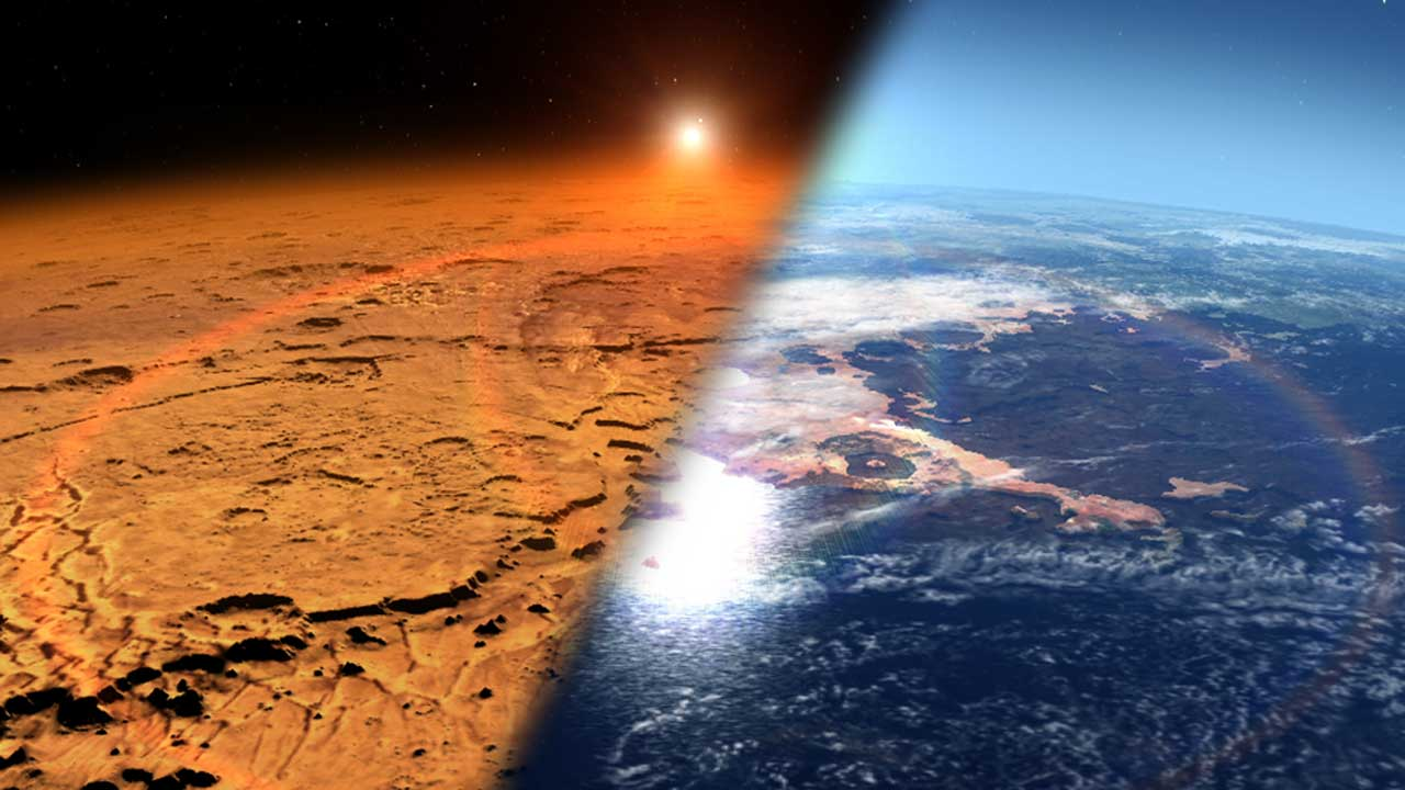 Scientists have gained new insight into Mars' past atmosphere