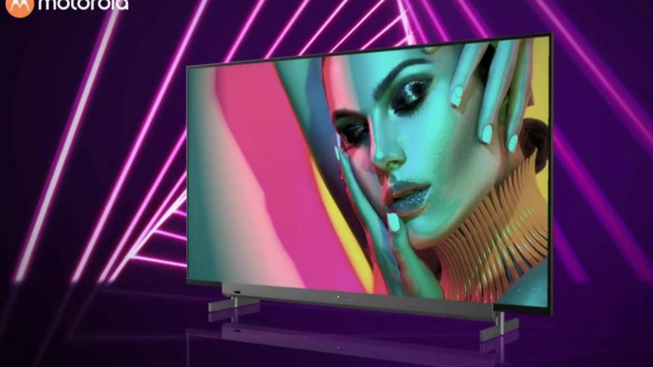 Motorola launches six Android TVs in India