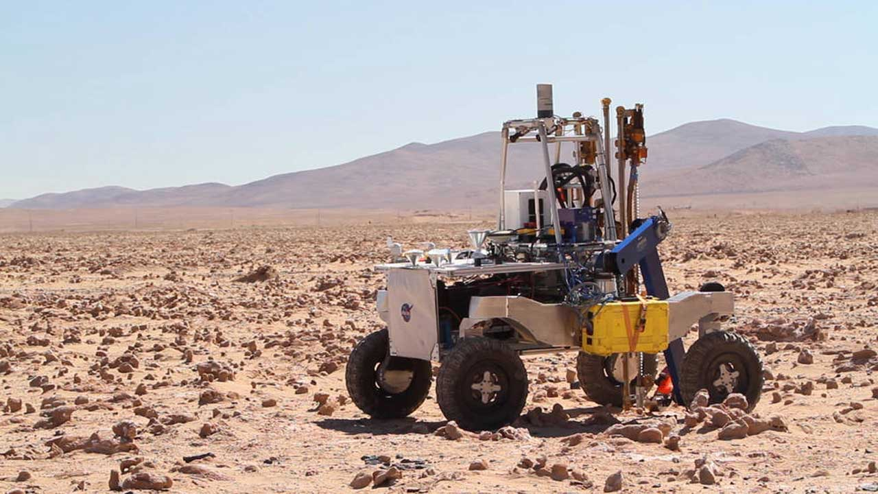 NASA is testing ARADS rover with a fancy drill for deep