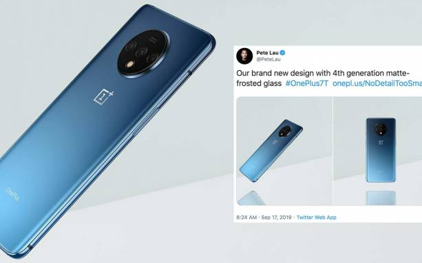OnePlus 7T revealed by CEO with 3x camera detail