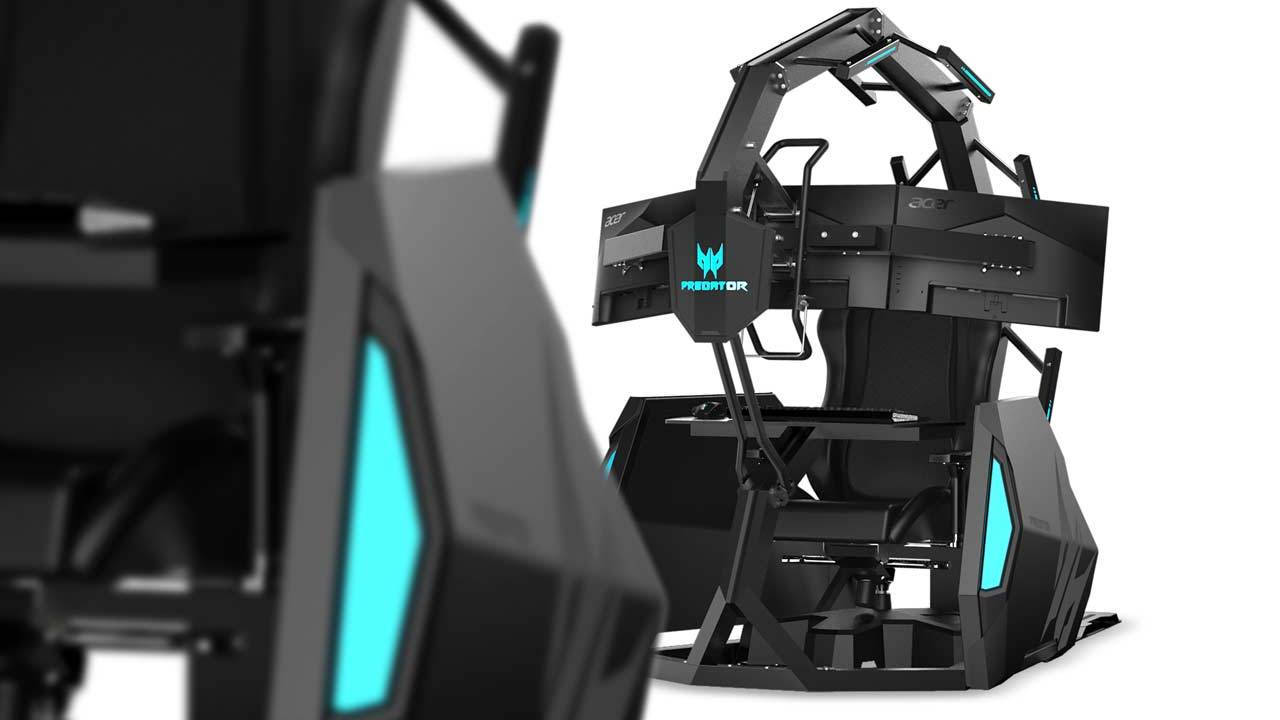 Predator Thronos Air makes Acer's gaming chair even wilder