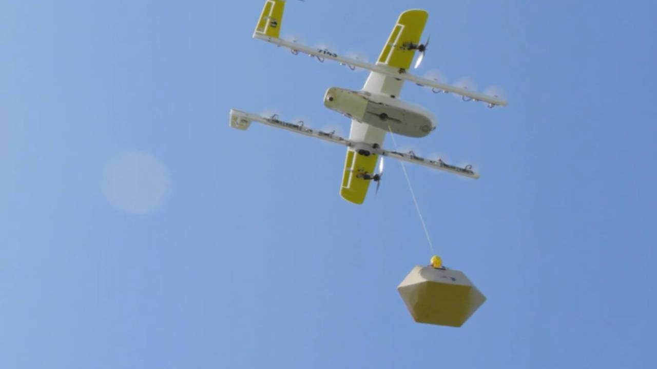 Alphabet's Wing brings drone deliveries to Walgreens and FedEx