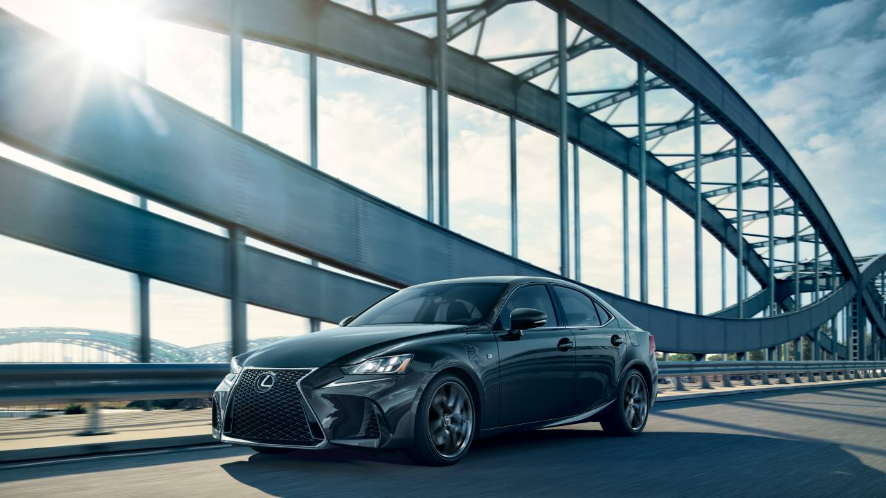 2020 Lexus IS F Sport Blackline Special Edition limited to 900 units