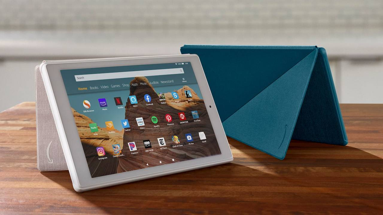 Amazon Fire HD 10 refresh adds USB-C but keeps aggressive price