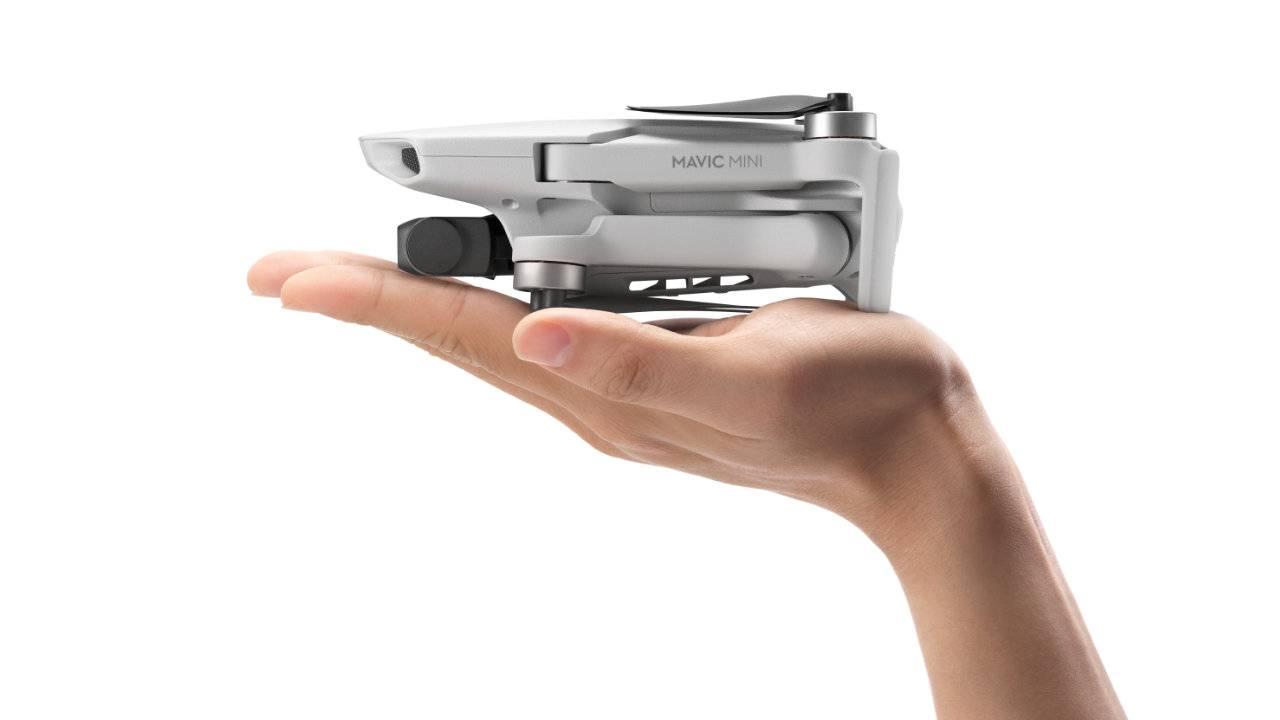 DJI Mavic Mini ultra-light folding drone revealed with 2.7K camera