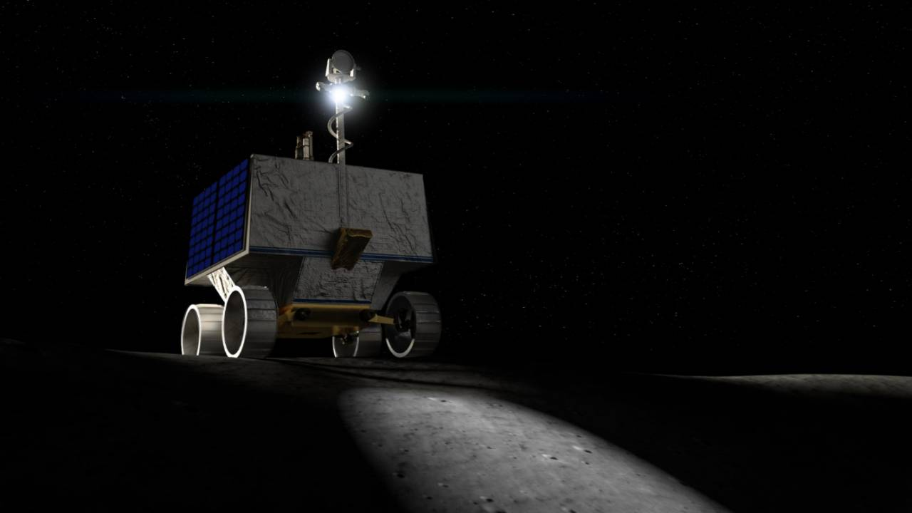 NASA VIPER rover will hunt for water ice in Moon's shadowed regions