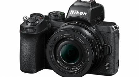 Nikon Z50 is the maker's first DX-format mirrorless camera