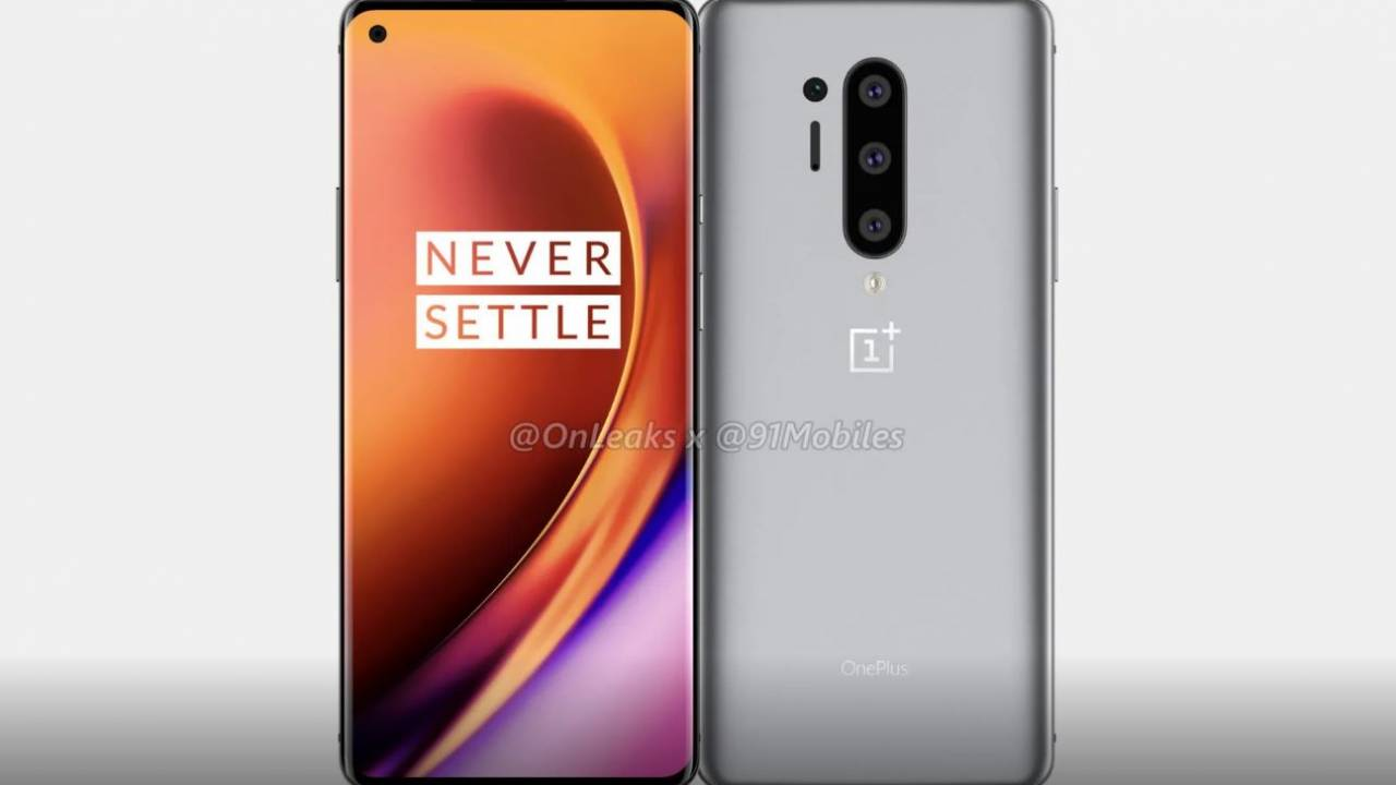 OnePlus 8 Pro renders show off quad rear camera