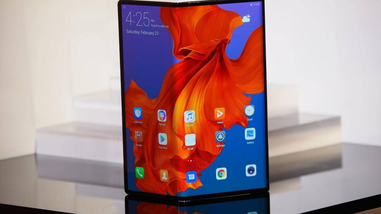 Huawei Mate X foldable phone coming this month with important changes