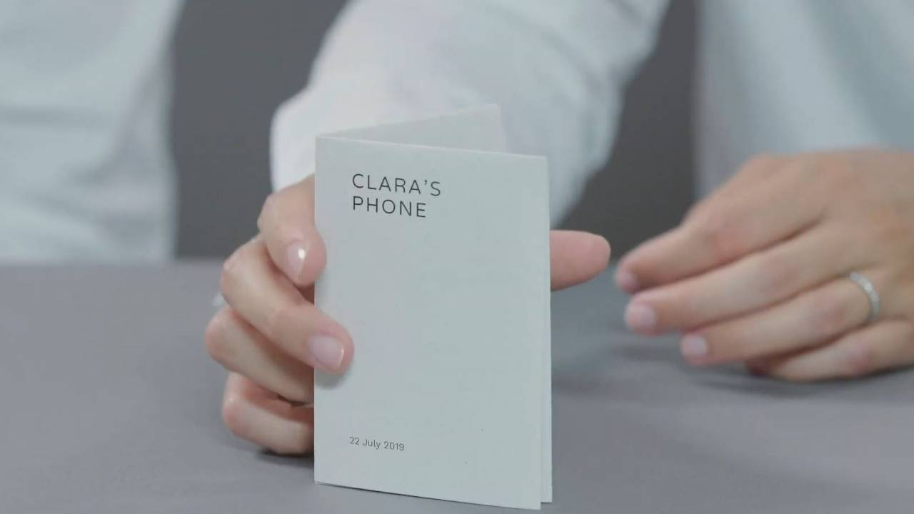 Google Digital Wellbeing Experiments include strangely appealing Paper Phone