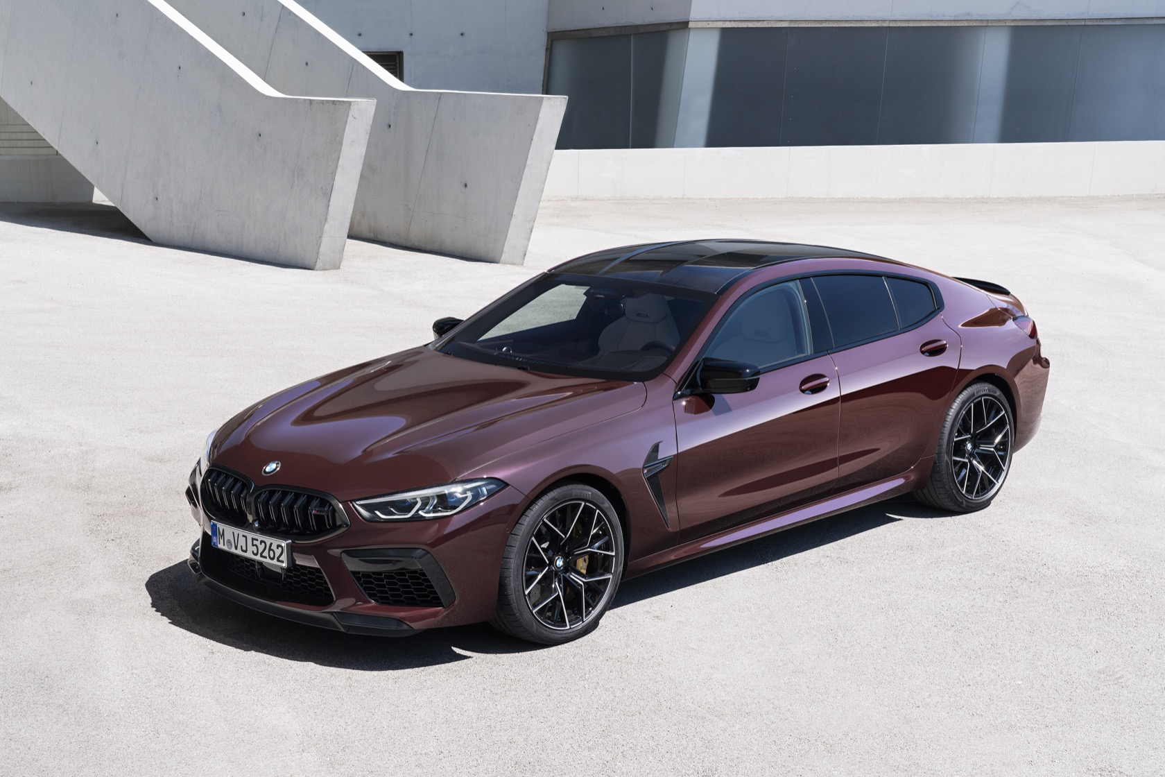 2020 BMW M8 Gran Coupe Competition is 617hp of four-door ...