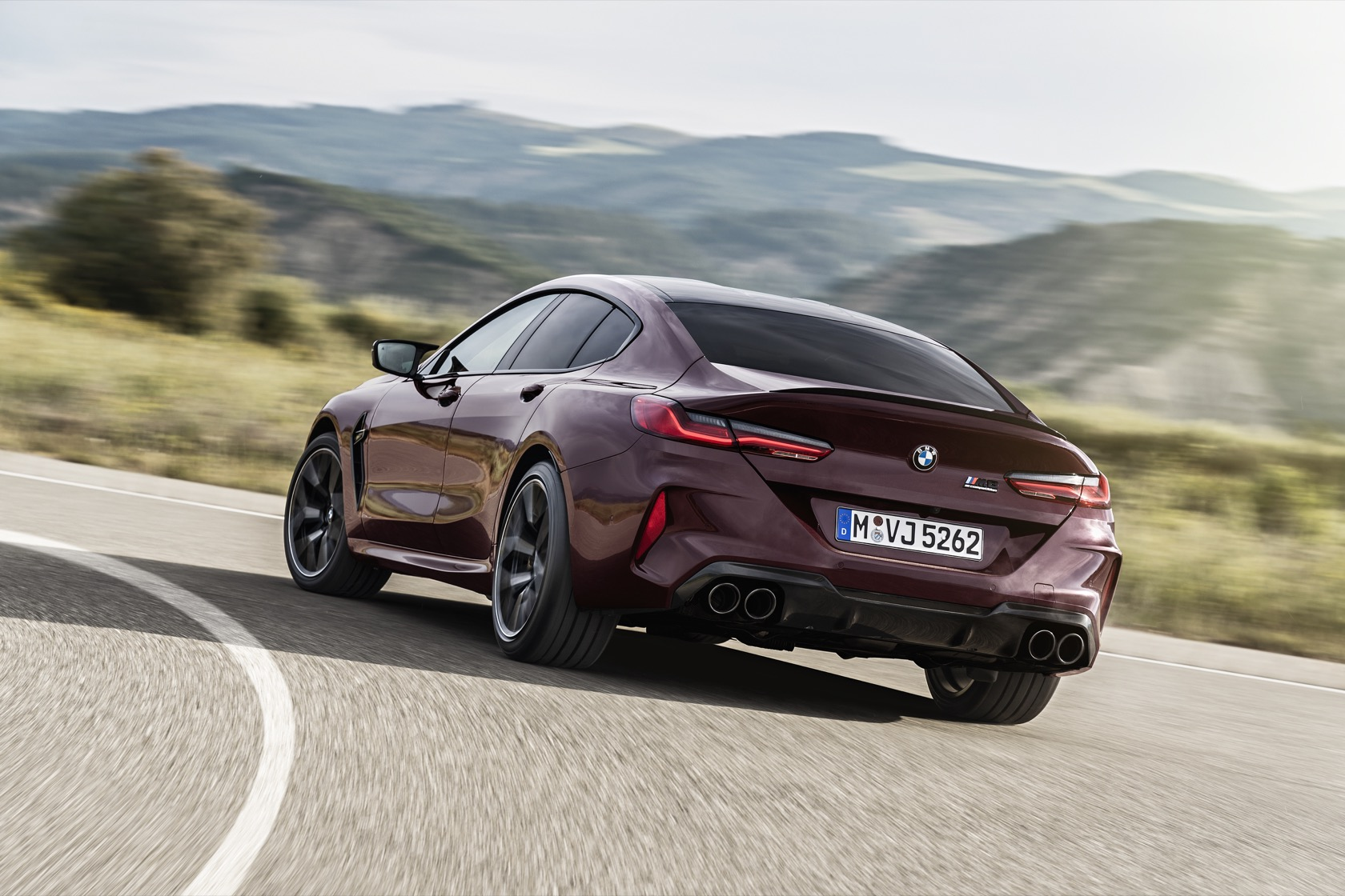2020 bmw m8 gran coupe competition is 617hp of four-door luxury