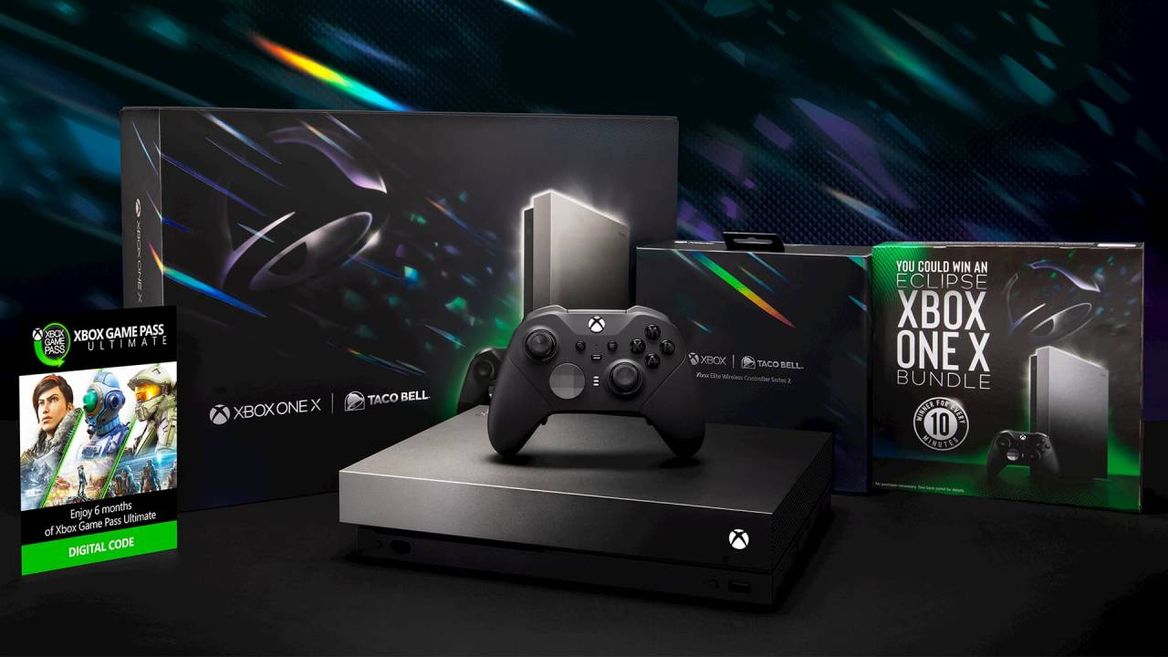 Microsoft and Taco Bell team once again on Xbox One X bundle