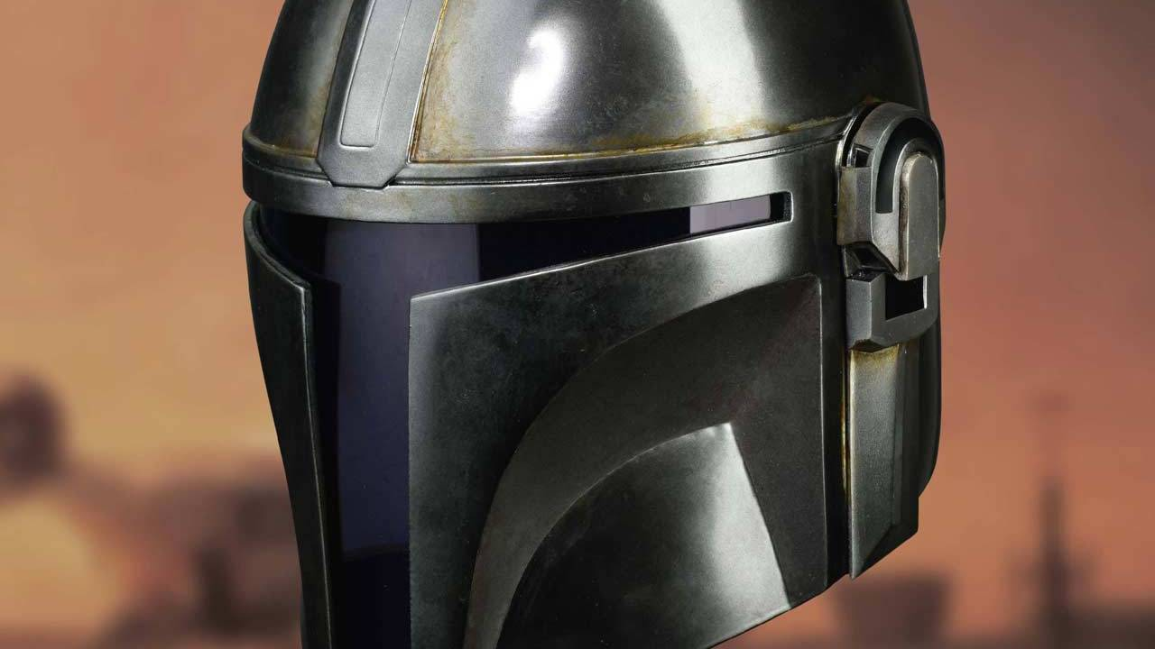 Official 3D-scanned Mandalorian replica helmets will cost $650