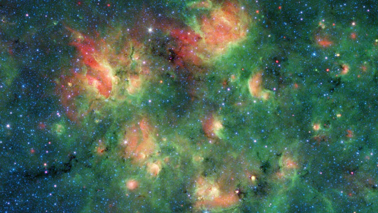 NASA's Spitzer snaps a cool image of star-making region