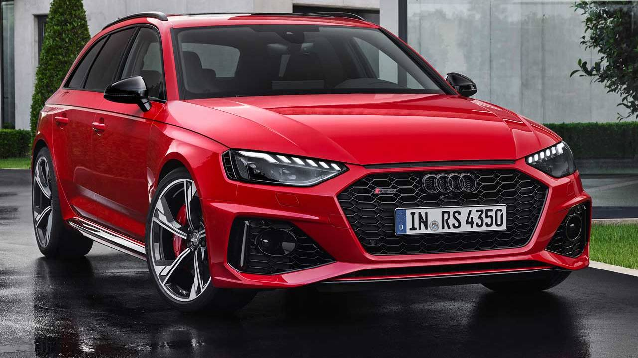 Updated Audi RS 4 Avant goes on sale this month
