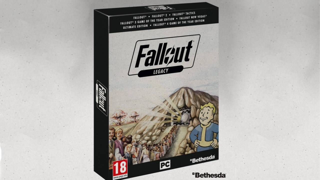 Fallout Legacy Collection confirmed, but it'll be hard to get