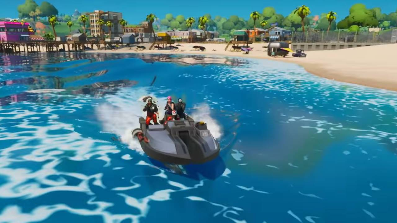Fortnite Chapter 2 bug lets players fly boats like planes