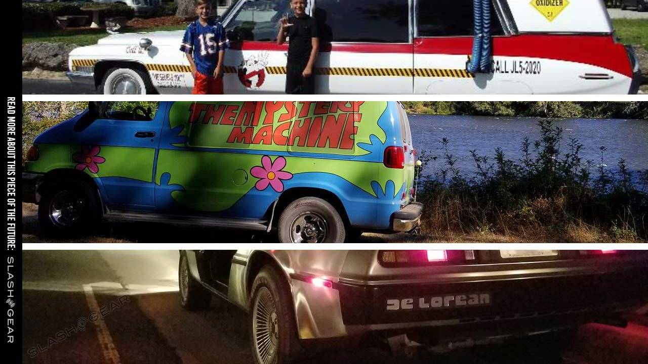 Turo now renting out a DeLorean, Mystery Machine, and Ghostbusters ECTO-1