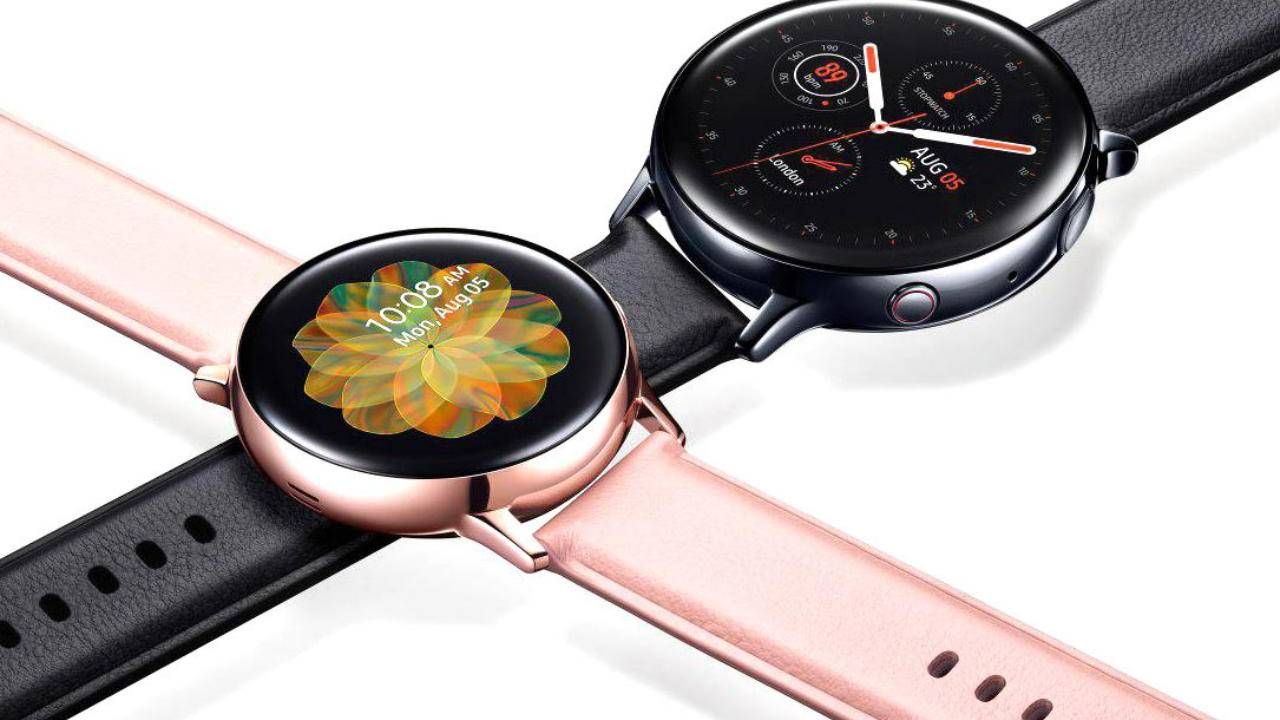 Galaxy Watch Active 2 update turns touch bezel on by default
