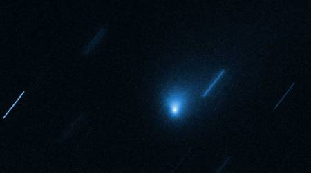 Hubble observes its first interstellar comet