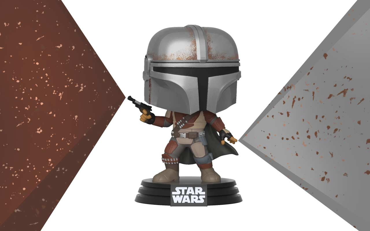 Funko Pop! Convention style Mandalorian sold out