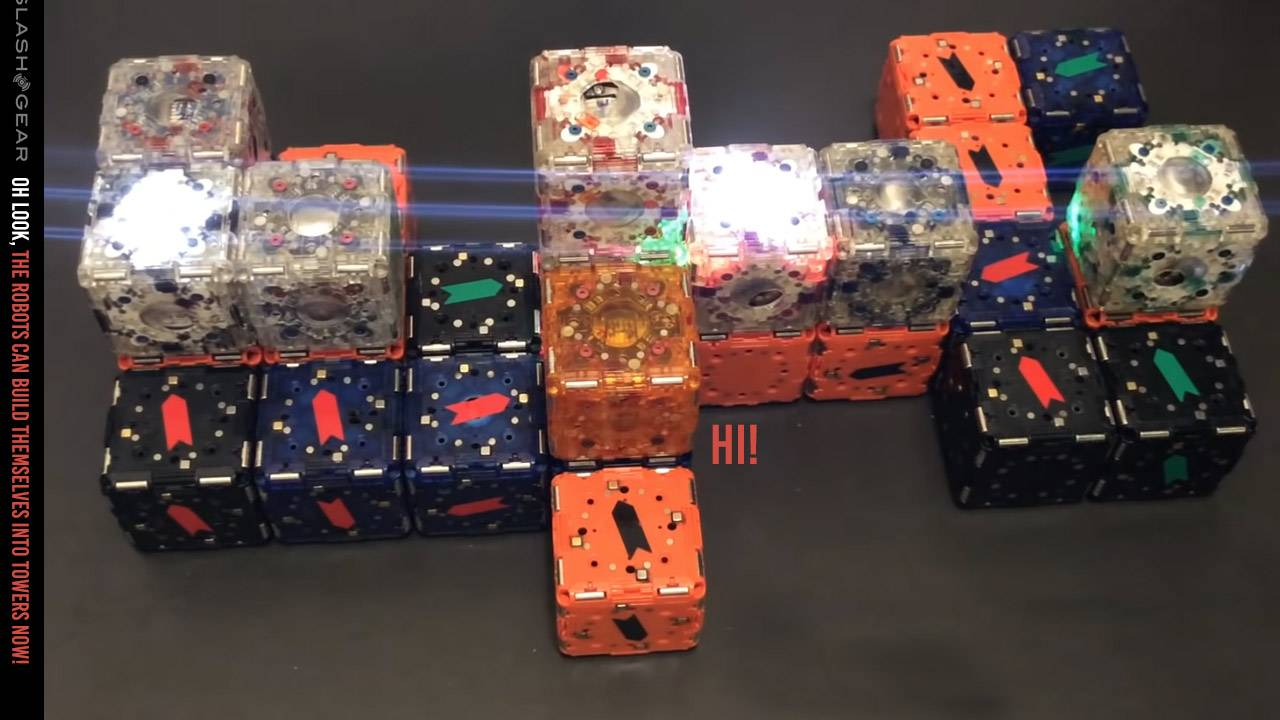 M-Blocks 2.0 revealed: Now these cube robots can collaborate
