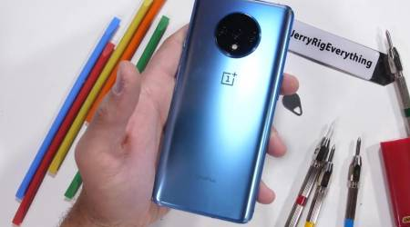 OnePlus 7T durability test will have your reaching for the included case