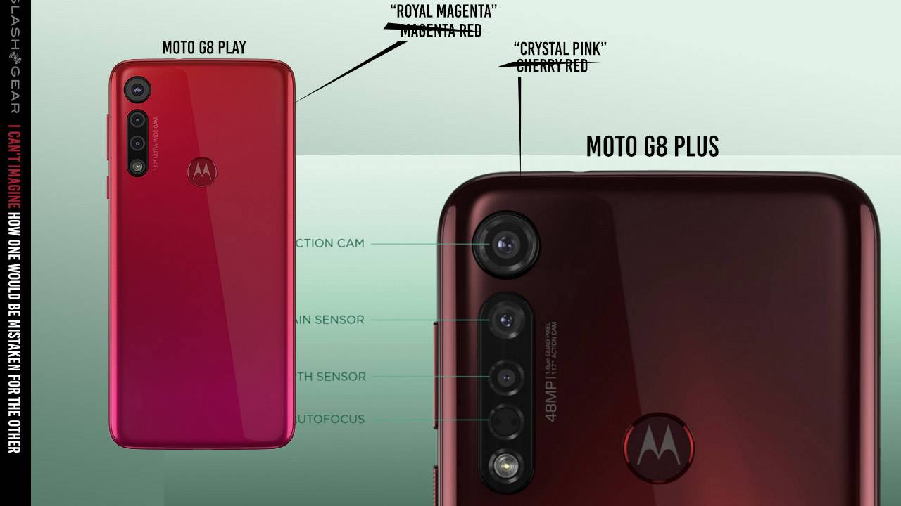 Motorola Moto G8 Plus and Play are very different machines