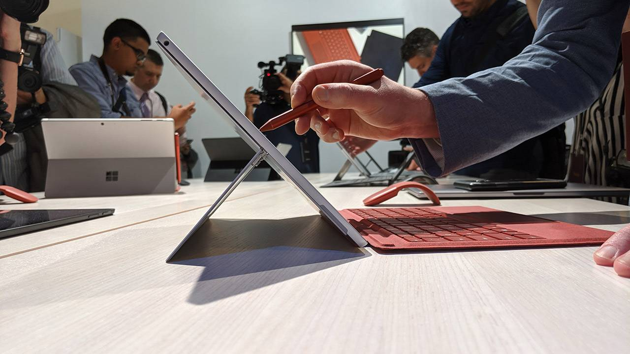 Surface Pro 7 hands-on and first impressions