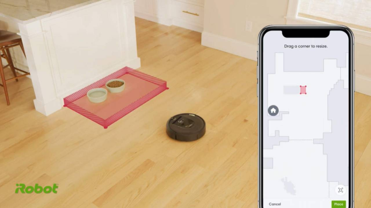 Roomba update adds Keep Out Zones feature for i Series robots