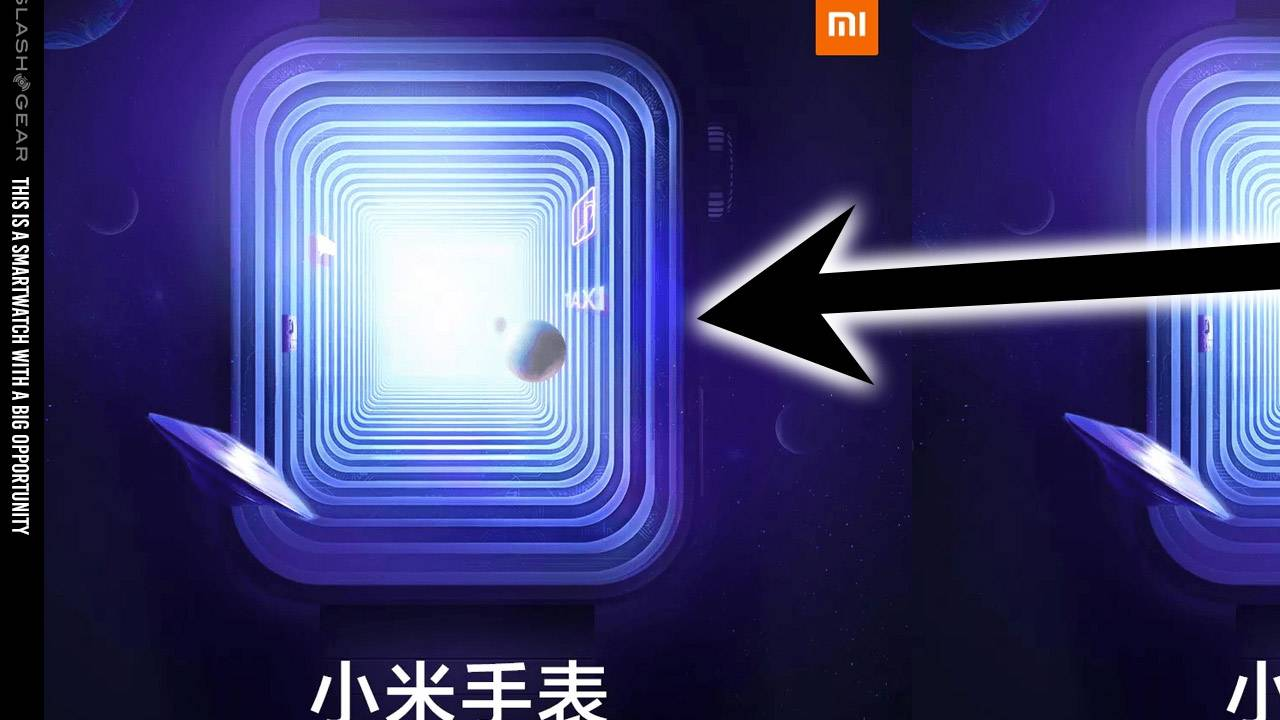 Xiaomi's teasing an extremely Apple Watch-looking wearable