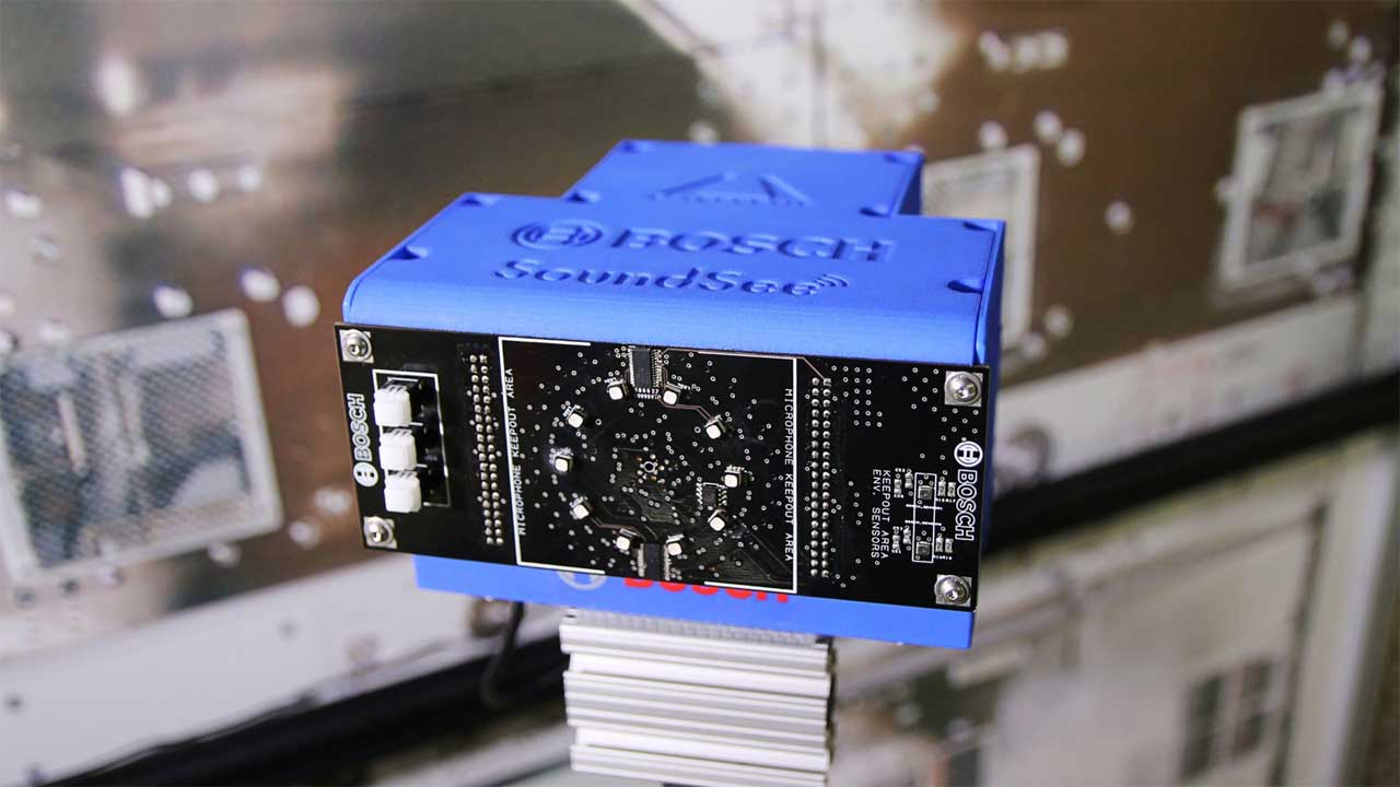 Bosch SoundSee module heads to the ISS to gauge system health