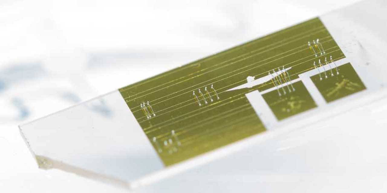 ETH researchers create tiny infrared spectrometer
