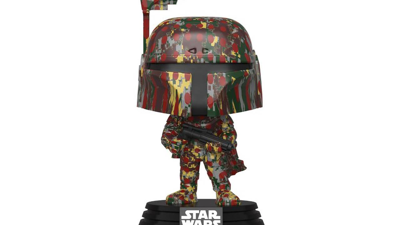 Boba Fett Funko Futura 2000 gear released before Mandalorian