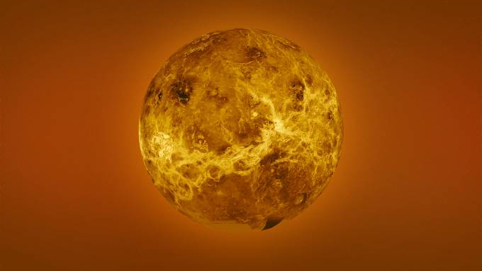 A new study of Venus lava flow suggests it wasn't once wet
