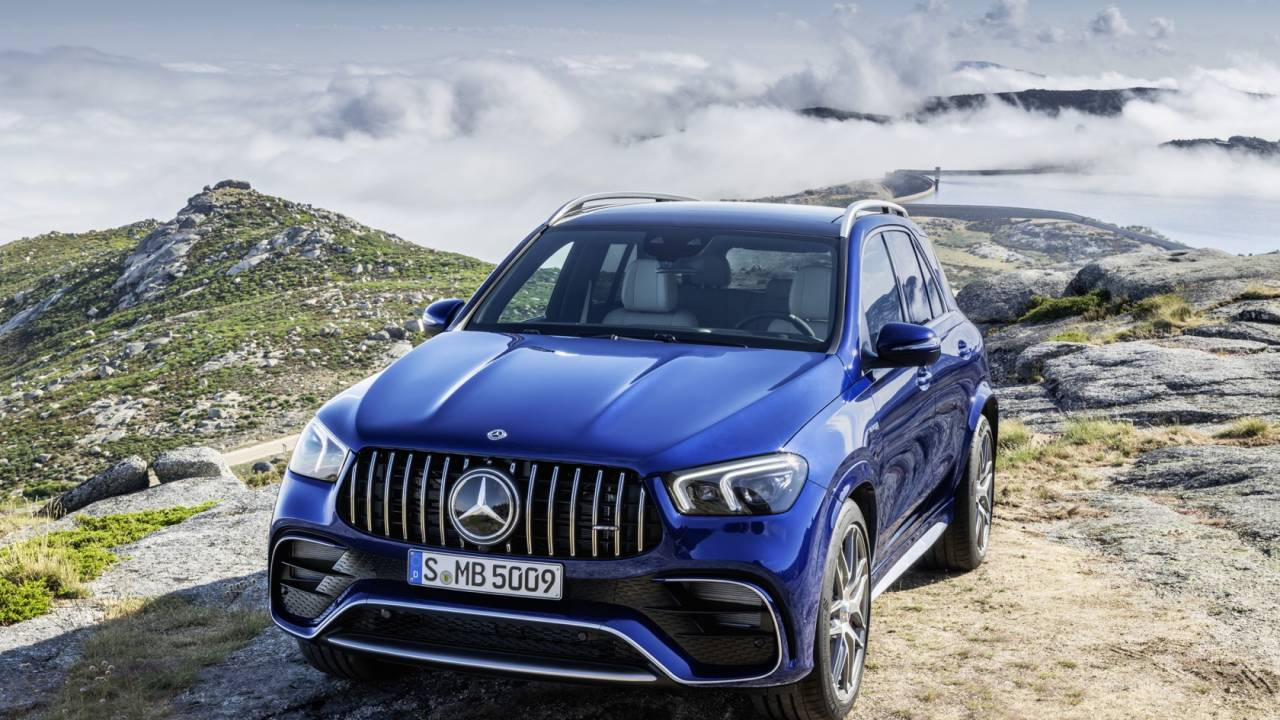 This 2021 Mercedes-AMG GLE 63 S is an SUV to put sports cars to shame
