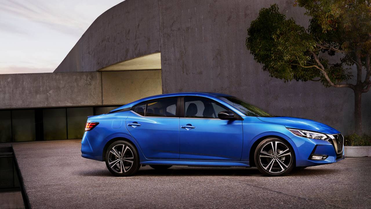 All-new 2020 Nissan Sentra is larger and more comfortable ...