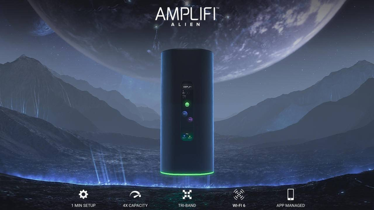 AmpliFi Alien Wi-Fi 6 router promises true Gigabit Internet anywhere at home