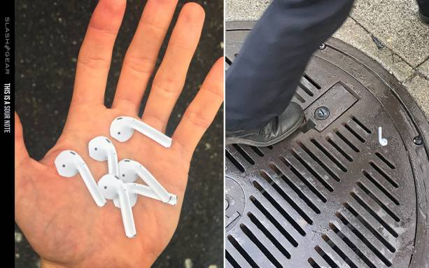 Lifelike AirPods sticker prank strikes a chord in SF
