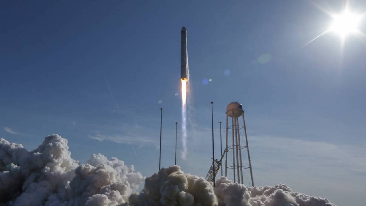 Northrop successfully launches Cygnus cargo spacecraft for the ISS