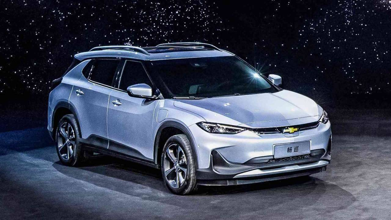 Chevrolet Menlo EV is the Tesla Model Y rival you can't buy