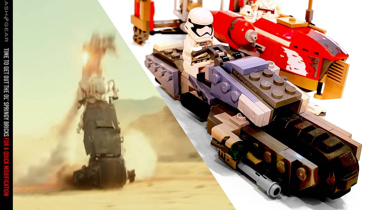 Star Wars: Rise of Skywalker film clip: Why 'they fly now', but LEGO doesn't