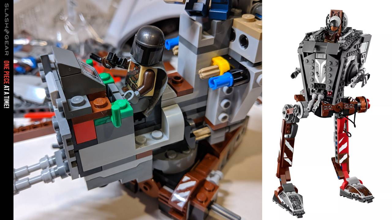 Star Wars: The Mandalorian AT-ST Raider LEGO Review