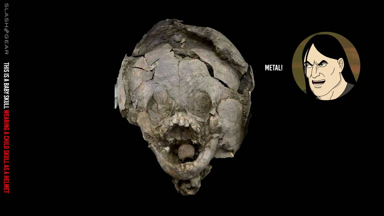 Buried babies with human skull helmets exhumed in Ecuador