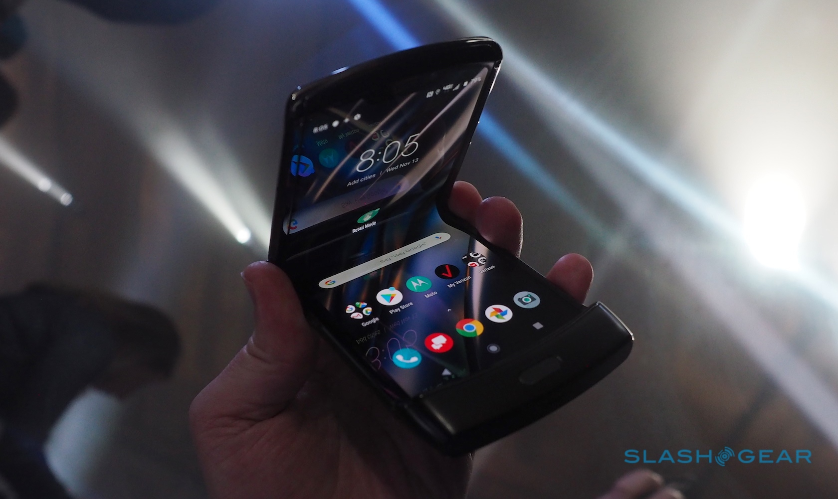 When people ask about the 2019 Motorola Razr, here's what I say